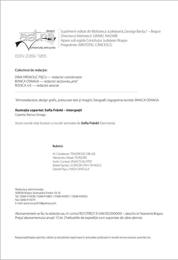 Redactia Astra 1-2/2013