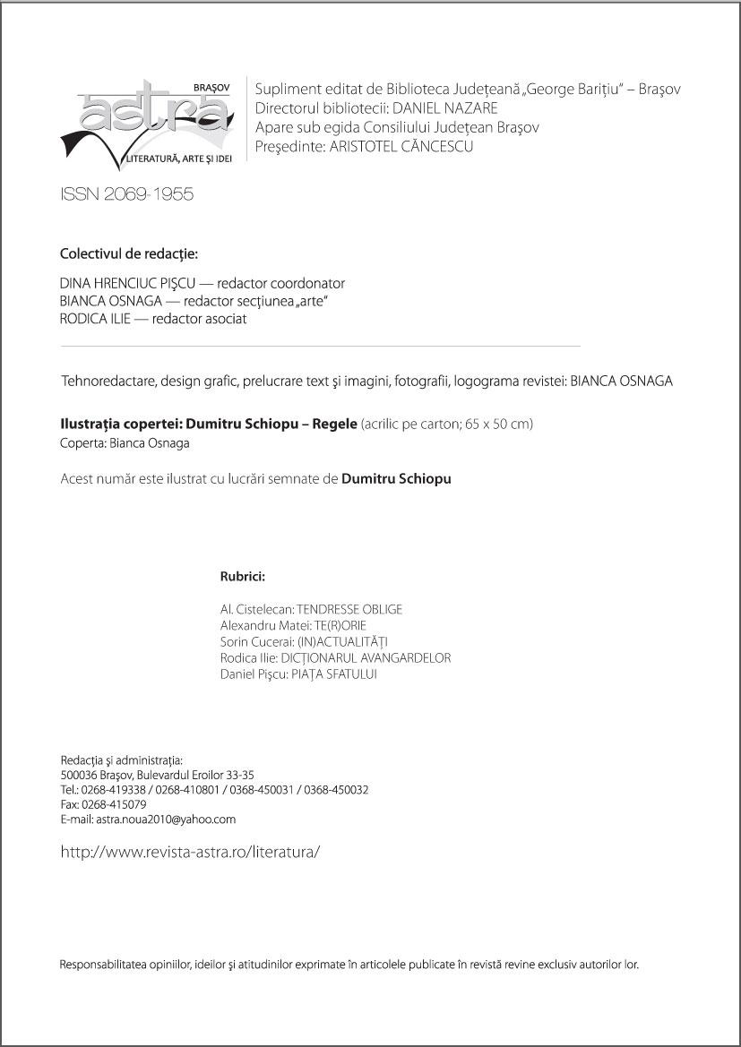 Redactia Astra 3-4/2013