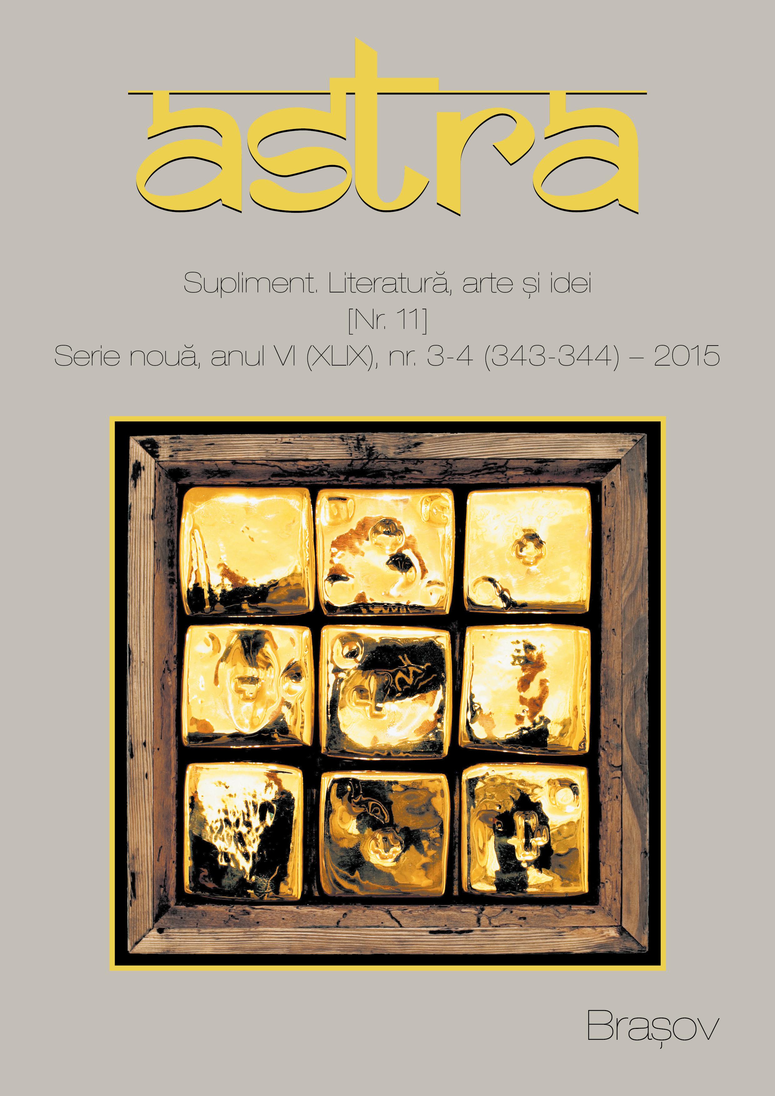 Coperta Astra 1-2/2014