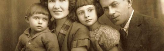Familia Berman:Tilde, Raisa, Lili, Iosif
