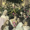 Regina Elisabeta, principesa Marioara, principesa moştenitoare Maria, principesa Elisabeta, principele Carol, principele Nicolae şi regele Carol I, 1907