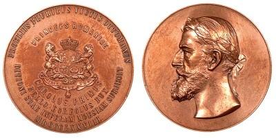 Medalie dedicată victoriei în războiul cu Imperiul Otoman, 1878
