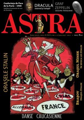 Coperta revista Astra nr. 1-2/2011