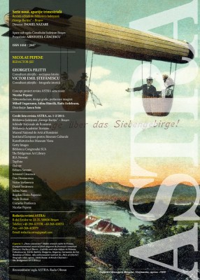 Redacție Revista Astra nr. 1-2/2011
