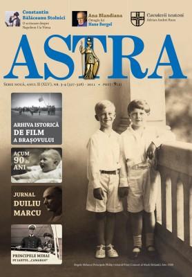 Coperta revista Astra nr. 3-4/2011