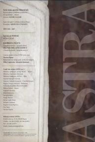 Redacție Revista Astra nr. 1/2010