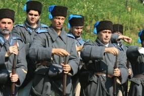 """Asociaţia 6 Dorobanţi, Festivalul internaţional Istoric Academic """"În Numele Trandafirului"""", Râşnov, 2009"""