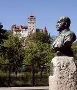 Bran - Monumentul I. Puşcariu (foto 2011)