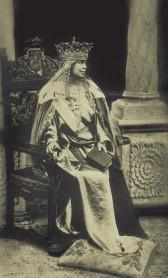 Regina Maria a României Mari, foto Julietta, Alba Iulia, 15 octombrie 1922