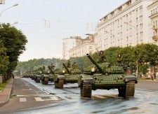 Sărbătorirea Zilei Victoriei la Minsk, 9 mai 2010