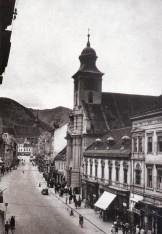 """Orașul Stalin – Strada 7 Noiembrie (în prezent Strada Mureșenilor), 1959. Vedere editată de Combinatul Poligrafic """"Casa Scânteii"""""""