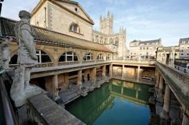 Băile romane din Bath, foto 2011