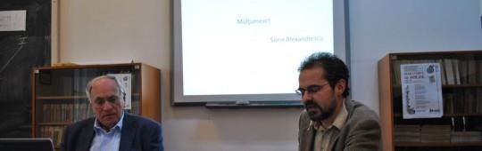 Sorin Alexandrescu în Conferinţele doctorale ale Literelor braşovene – IN MEMORIAM ANDREI BODIU