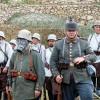 Reconstituire Primul Război Mondial: armata germană. Cetatea Râşnov, 2010